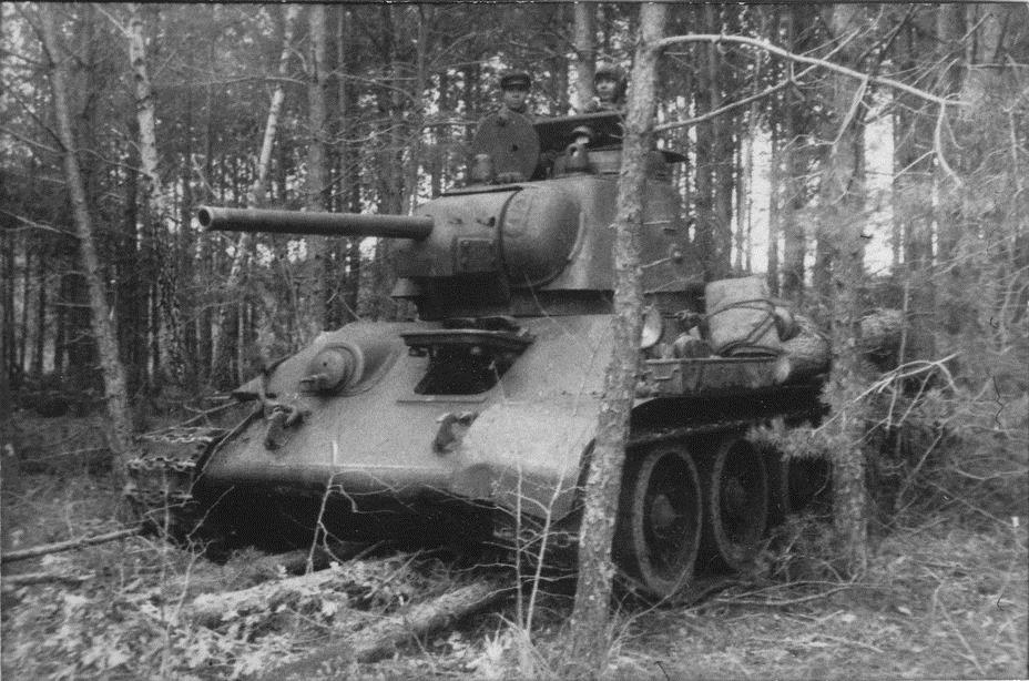 Т-34-76 близ села Тёплое