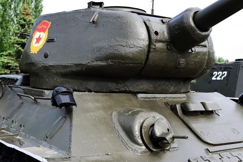 Т-34-85 с пушкой ЗИС-С-53