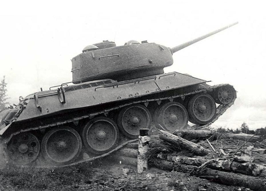 Т-34 в наступлении