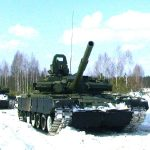 Т-80 в снегу