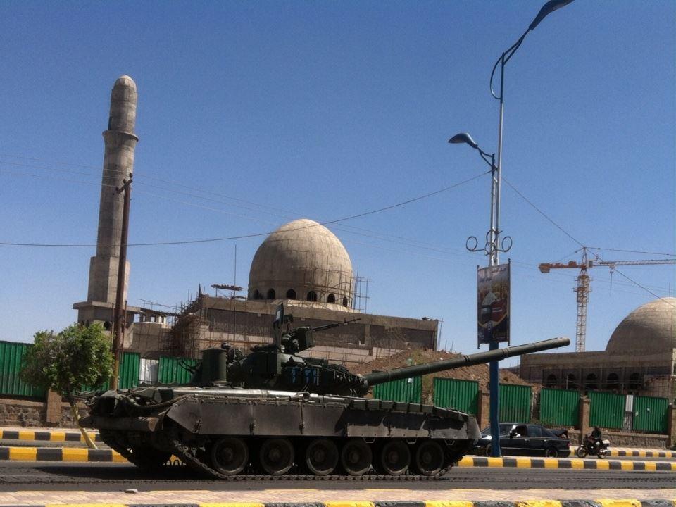 Т-80 в современном Йемене