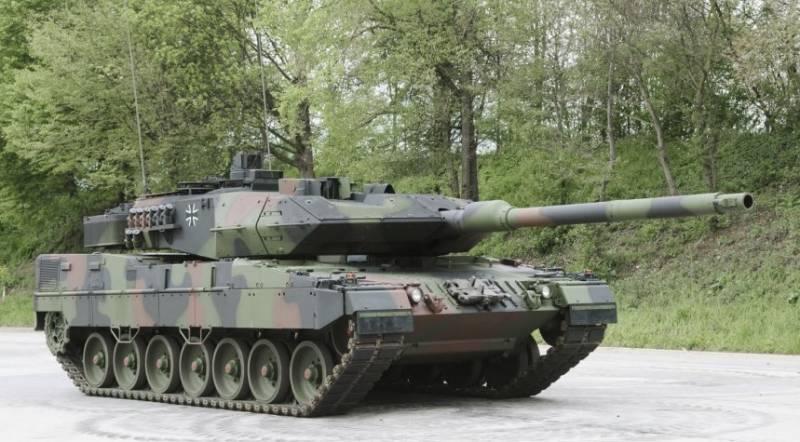 Танк «Леопард-2А7»