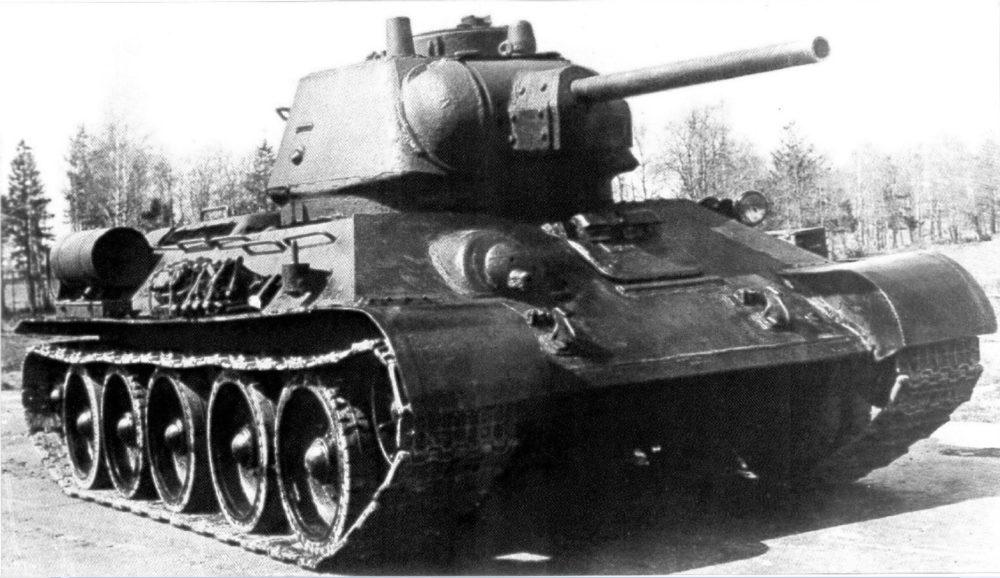 Танк Т-34 образца 1943 года