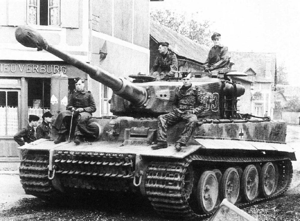 «Тигр» с экипажем