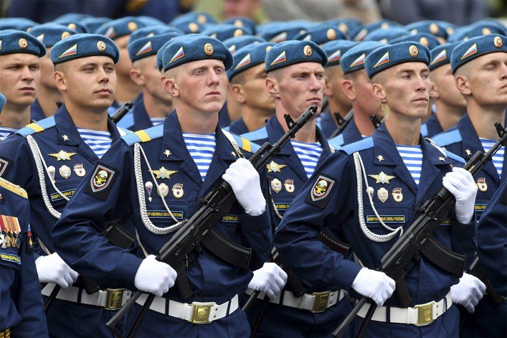 ВДВ РФ на параде