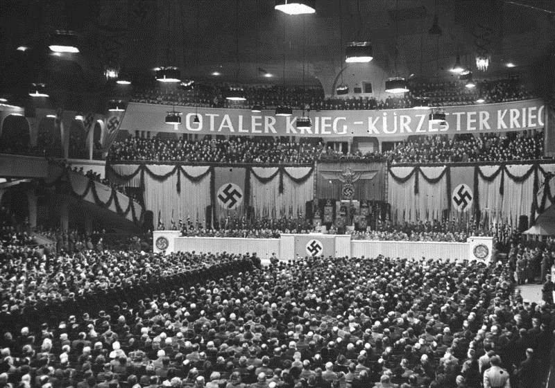 Выступление Геббельса