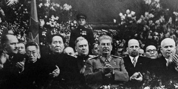 Цзэдун и Сталин
