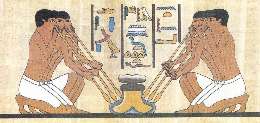 Египетские стеклодувы