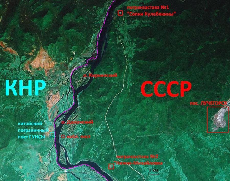 Карта места событий