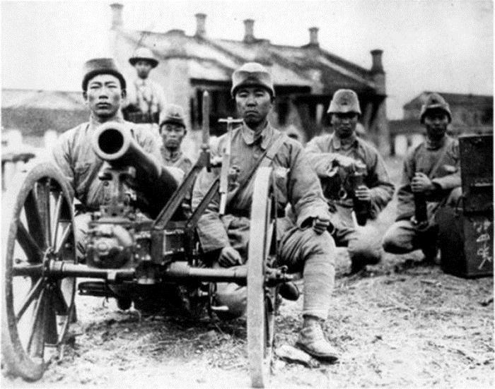 Китайские солдаты на КВЖД