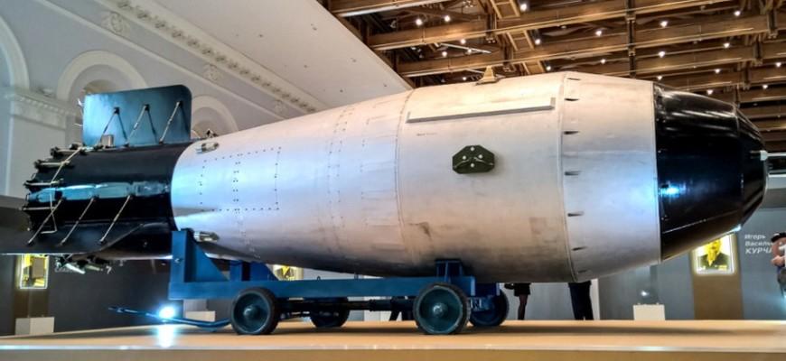 Макет «Царь-бомбы»