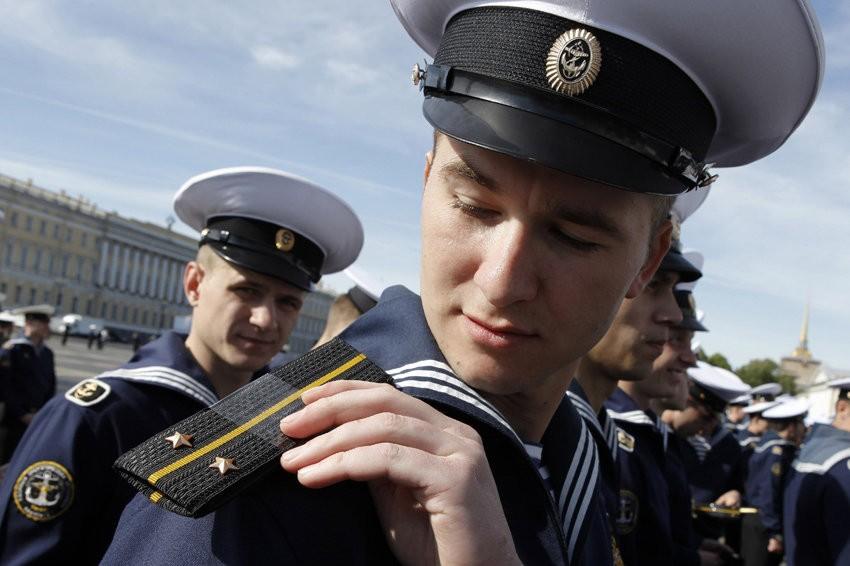 Погоны ВМФ России