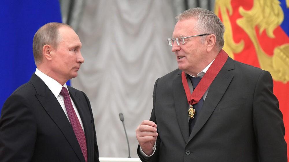 Путин и Жириновский