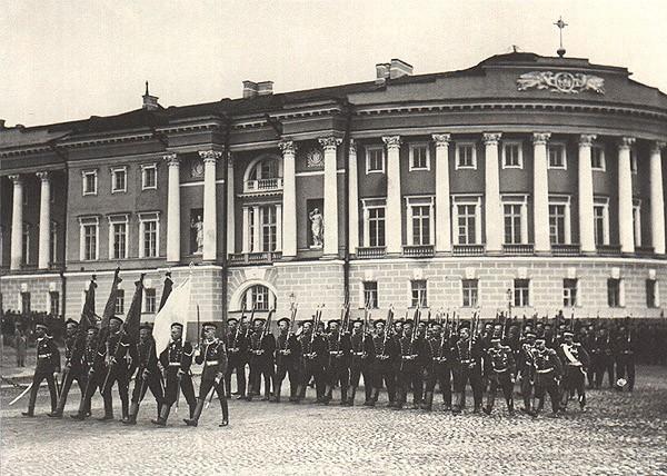 Семёновский полк, 1909 год