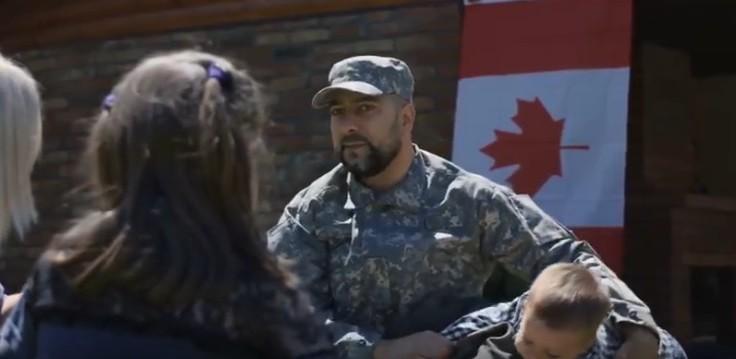 Солдат армии Канады