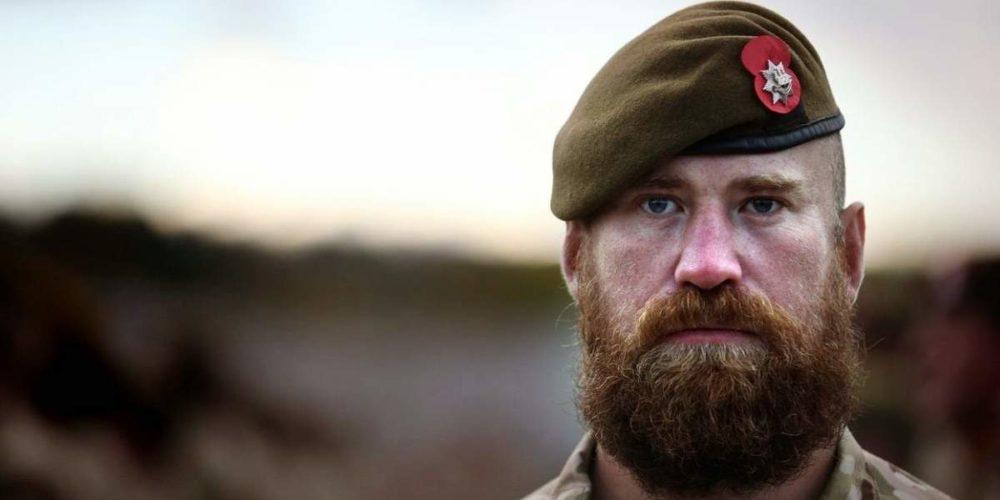 Солдат с бородой