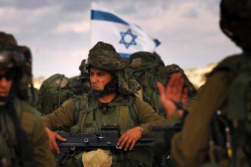 Солдаты армии Израиля