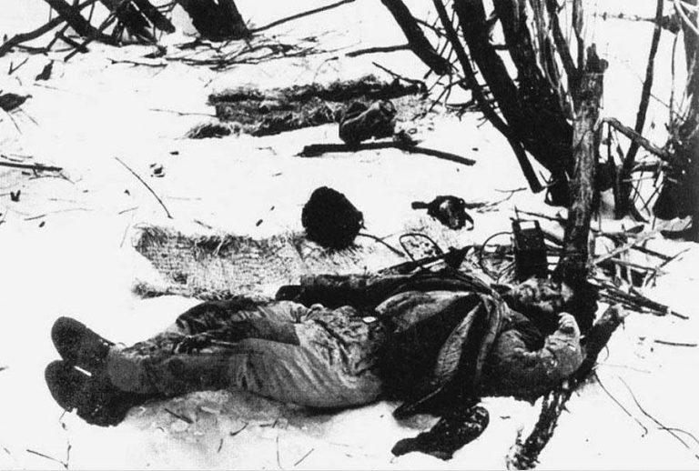 Труп китайского солдата