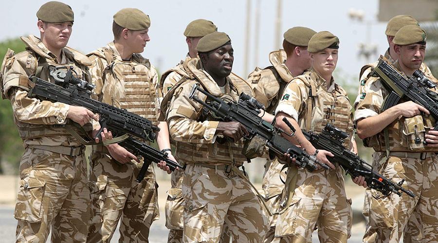 Военнослужащие Великобритании