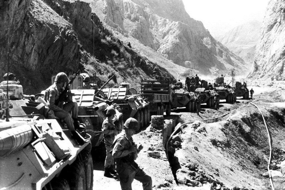 Войска СССР в Панджшерском ущелье