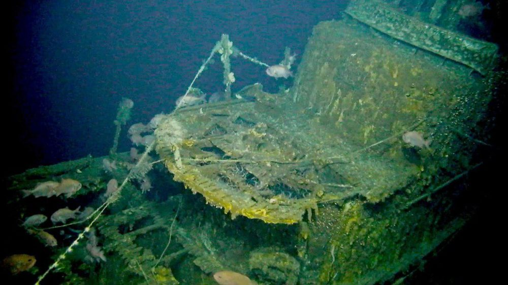 Затонувшая I-52