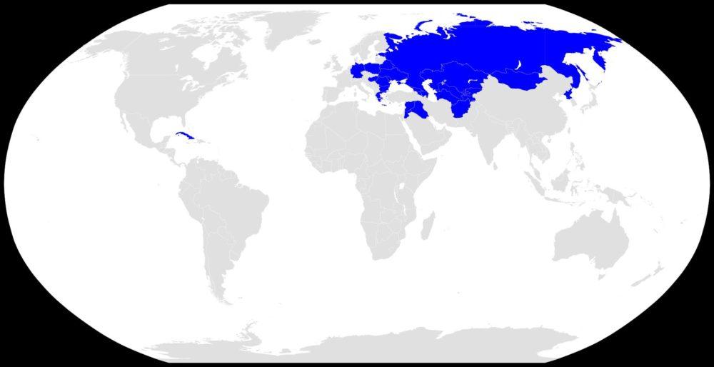 АК-74 в мире