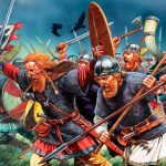 Атакующие викинги