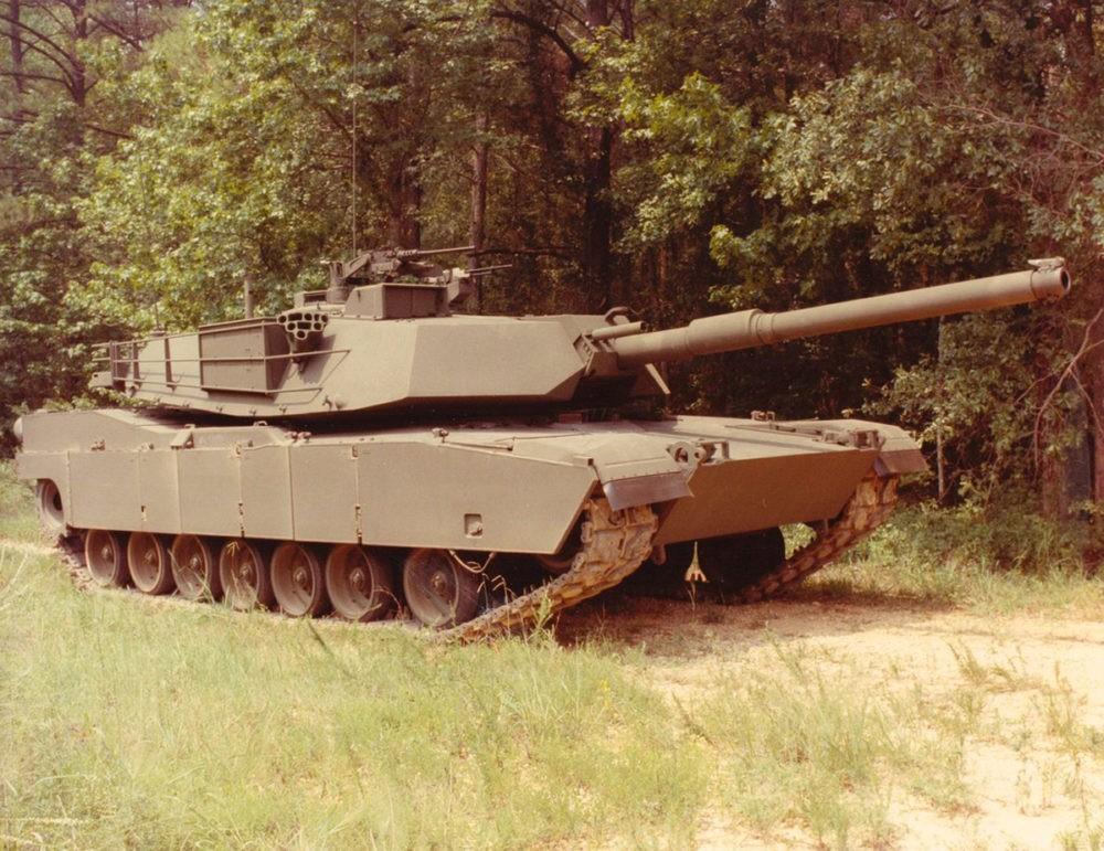 Базовая модель M1 Abrams