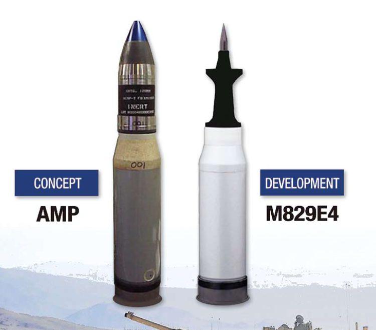 Боеприпасы AMP XM1147 и M829E4