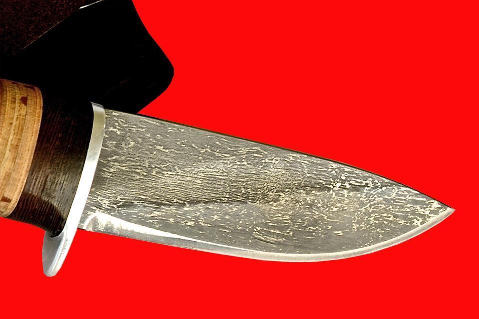 Боевой булатный нож
