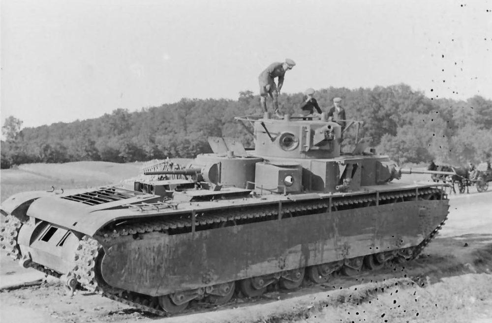 Брошенный Т-35
