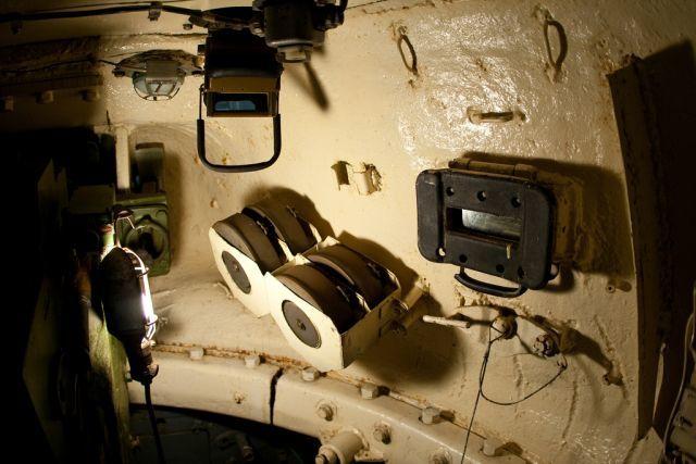 Диски с патронами к спаренному пулемёту в Т-34