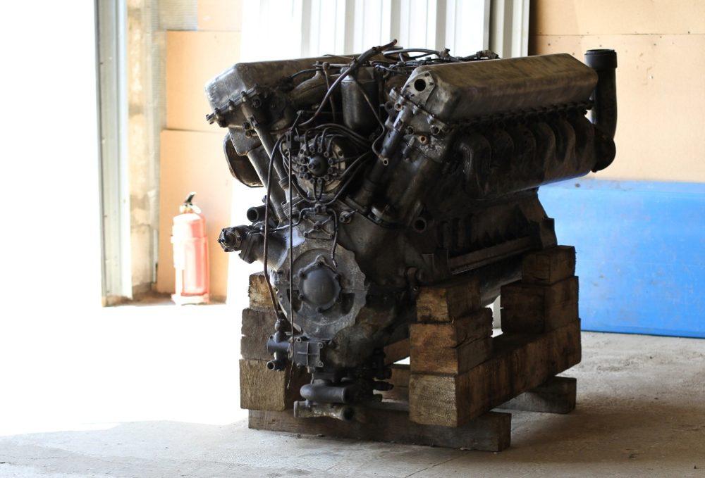 Двигатель КВ-1