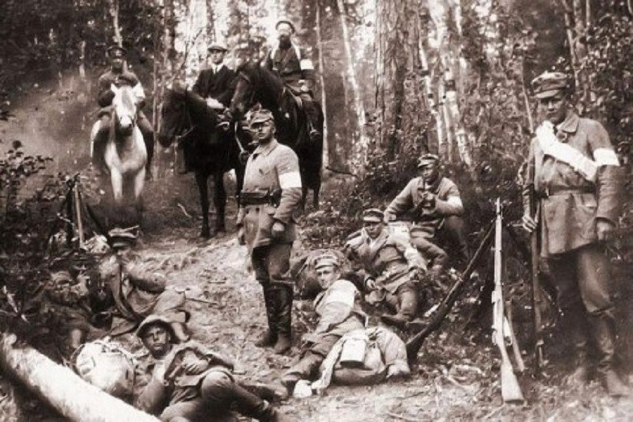 Финский отряд в Карелии