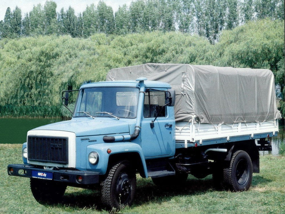 ГАЗ-3309 с тентом