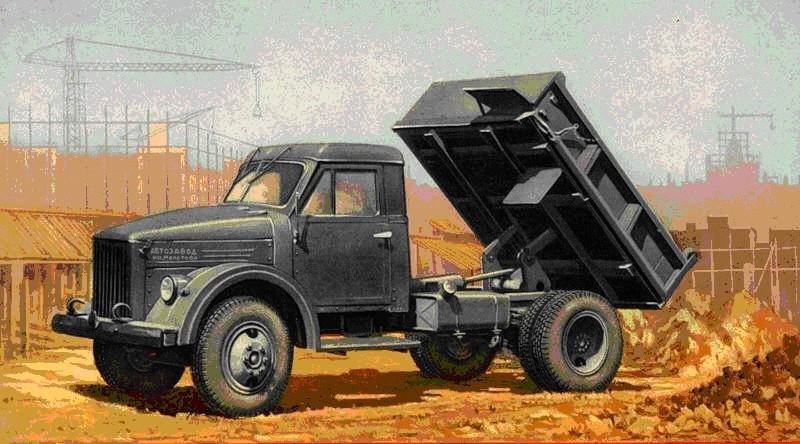 ГАЗ-51-самосвал