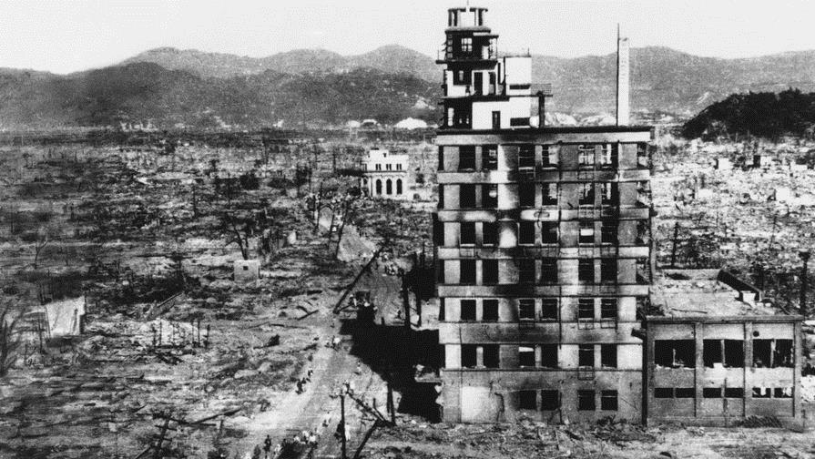 Хиросима после удара