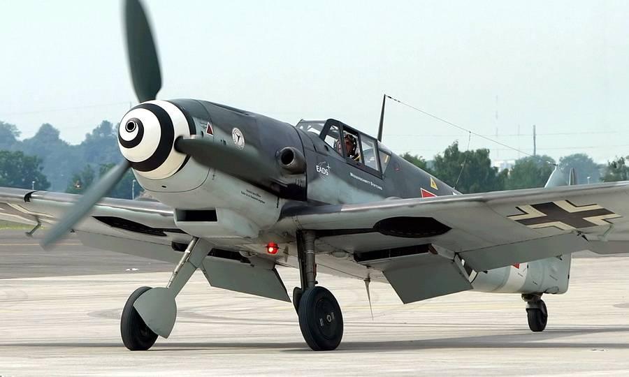 Истребитель Messerschmitt Bf.109