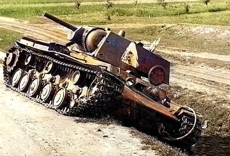 КВ-1 с Ф-32