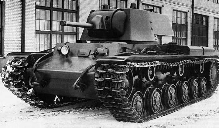 КВ-1 с упрощенной башней