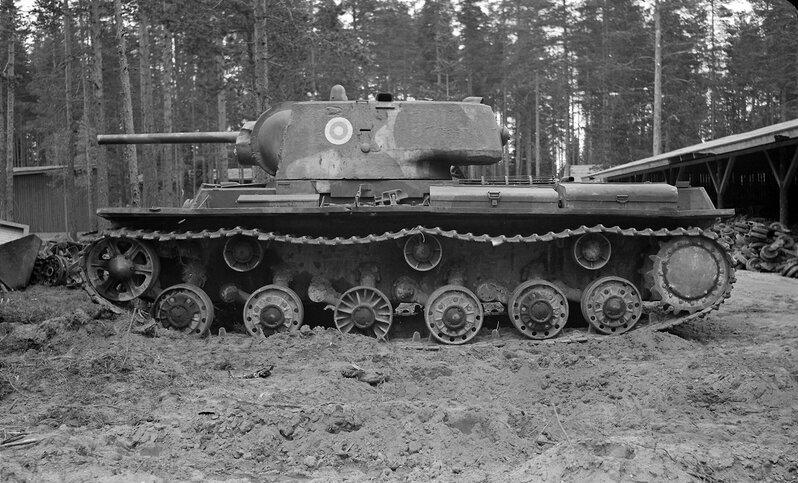 КВ-1 в финском танковом музее