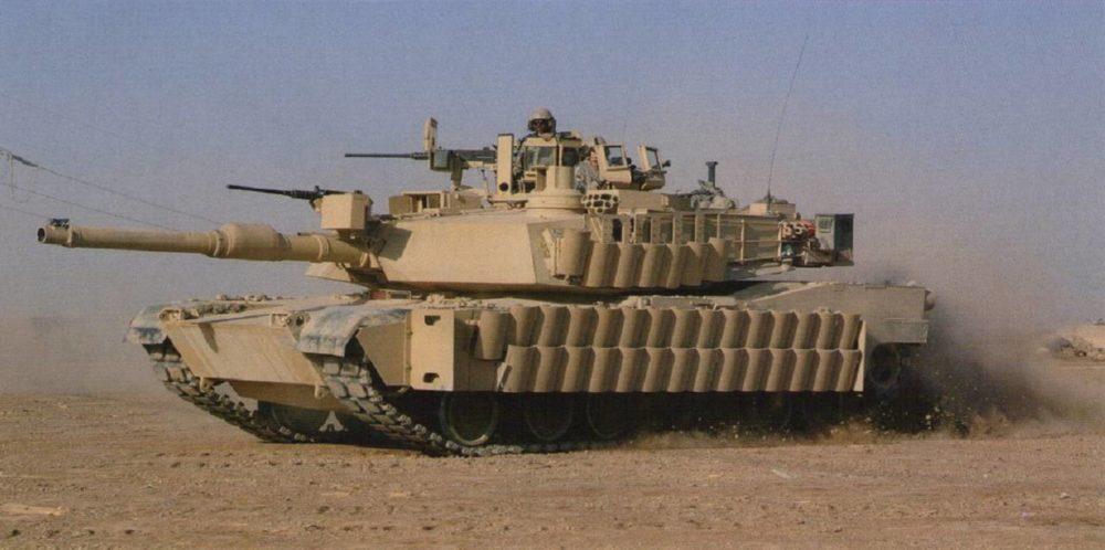 M1A2 с комплектом TUSK