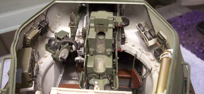 Макет башни Т-34-85