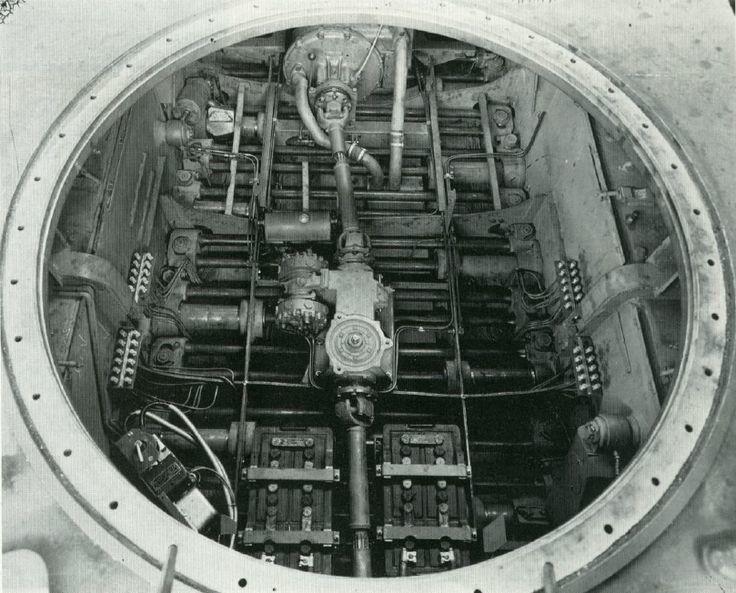 Механизм для поворота башни «Пантеры»