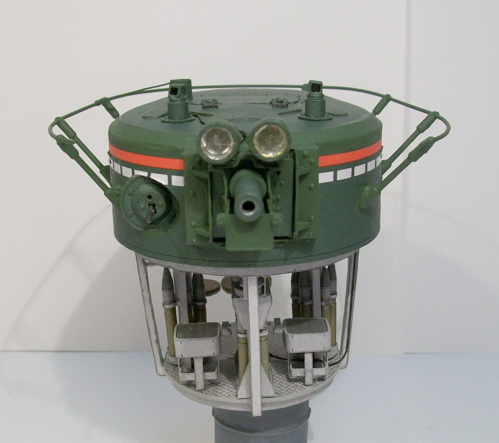 Модель главной башни Т-35