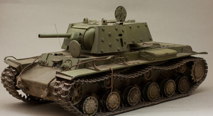 Модель КВ-1Э