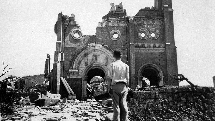 Нагасаки после нападения