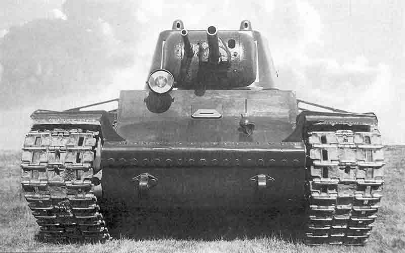 Опытный танк КВ