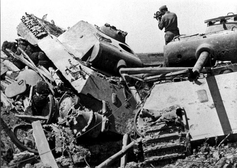«Пантеры», уничтоженные в Италии