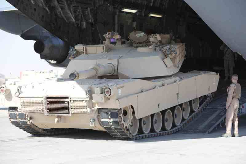 Перевозка M1A2